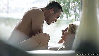 Horny pornstar Sugar Love in Exotic Cunnilingus, Romantic xxx scene