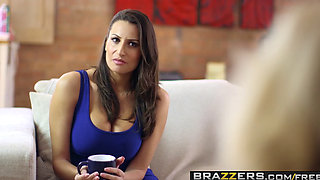 Brazzers - Moms in control - Carmel Anderson Sensual Jane Sam Bourne - Moms NOT In Control