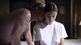 Dad aggressively fucks his stepdaughter Kendra Spade!