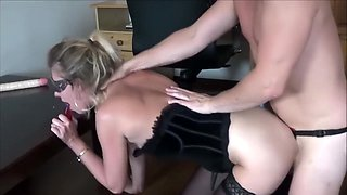 Extreme Triple Penetration. Huge Dildo Deepthroat, Stapon And Big Cock