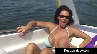 Texas Cougar Deauxma & Hubby Attend Swinger Party - SEX!