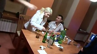 Drunk russian slut Nelly