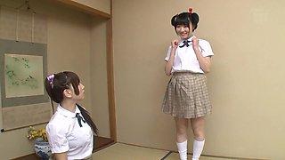 Ai Sayama & Karen Haruki in Teacher Gives College Students After School Lesson - CosplayInJapan