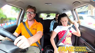 Fake Driving School Horny learners dirty secret fuck