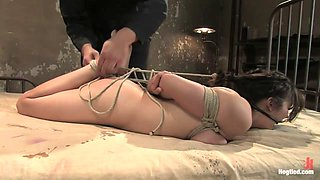 Sgt. Major & Mai Ly in Welcome Cute And Innocent Amy Aveline To HogTied.We Love Tying 19 Year Olds For The First Time. - HogTied