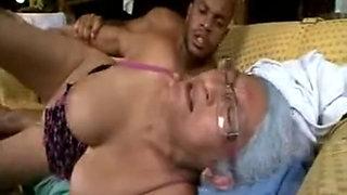 Old Ebony Maid need a BBC