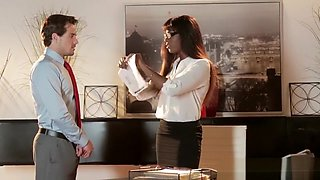 Office Obsession - Bitch Boss starring Tyler Nixon and Ana Foxxx