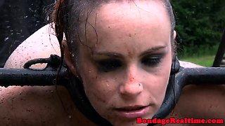 Redhead slave dominated and humiliated