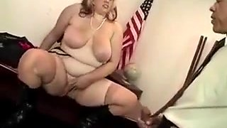 President Gets Teased By His Big Beautiful Redhead Secretary