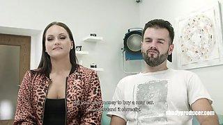 Shadyproducer wannabe porn star has cumshot after 2 min an