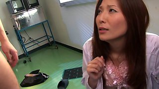 Yuna Shiina in Beauty Woman Doctor Humiliation part 2.2
