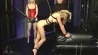 slave serves Master and Mistress