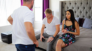 Nanny Spy – Dad What Are You Doing? Nanny Shamed For Fucking Adult Son
