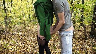 18 Years Old Amateur Girl In Beautiful Forest - Amateur Couple Koskaetleska