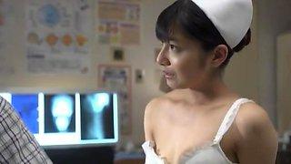 Amazing Japanese girl Akari Satsuki, Harumi Asano, Airi Misora in Horny Nurse, Couple JAV video