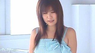 Crazy Japanese girl Milk Matsuzaka in Fabulous BDSM, Blowjob JAV clip
