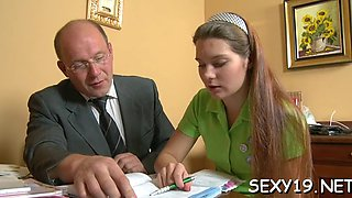 wild pleasuring for old teacher clip feature 1