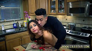 Student punished xxx After his manmeat is lovely and wet he stands her up and throws