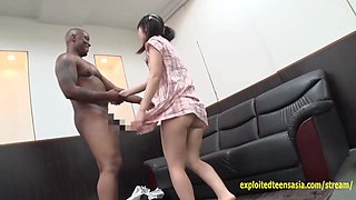 Jav Idol Kitagawa Yuzu Fucked By Black Guy At English School Cute Teen Chubby Ass Doggy