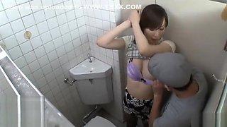 Reiko Sawamura toilet fuck