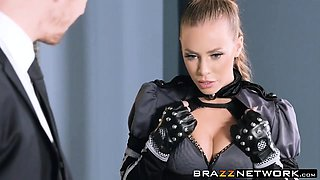 Hot Nicole Aniston Gets Fucked Hard Wearing her Uniform