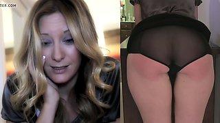 secretary gets a spanking