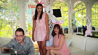 Family stroke ally's step sister seduces big brother and
