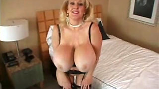Kayla Kleevage masturbating in sexy lingerie