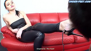 Mistress Stephanie Videos - Under-Feet