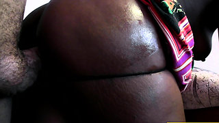 African Bubble Butt Gets Fucked Hard