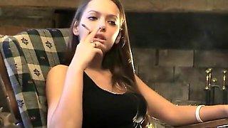 Hottest homemade Girlfriend, Smoking sex movie