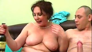 drunk mom gets fucked