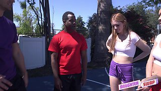 Julie Kay and Maya Kendrick like to fuck with two guys at once