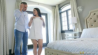 sexy real milf wife sucks on a big one