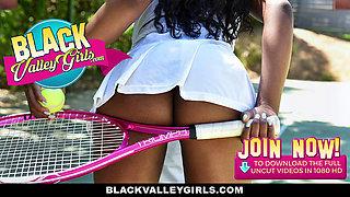 BlackValleyGirls - Cute Schoolgirl Teen  Fucks To Pass Class