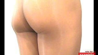 crossdresser pantyhose only 001