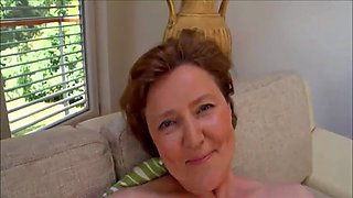 hairy mature romana on the couch