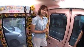 Best Japanese whore in Amazing Blowjob JAV clip