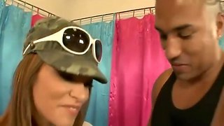Smoking Mommy Thea Marie Bangs Hard Tender Step-son