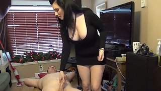 Stepmom force son to fuck