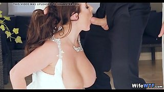 Wedding Day Whore in White