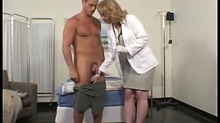 Skinny and slutty nurse gets fucked by her patient