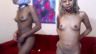 Amateur Ebony BBC Orgy with 1 Lucky Dude